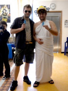 """Saverio al Toga Party"": primo esempio di Meta-Costuming"